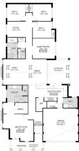 1 story 5 bedroom house plans awesome 2 4 3d
