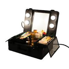 makeup box with mirror and lights philippines by mini 4 led lighted tilt mirror makeup artist