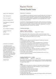 Nurse Cv Template Fascinating Nursing CV Template Nurse Resume Examples Sample Registered