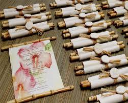 Bamboo Scroll Wedding Invitation Designs By Lenila Wedding In