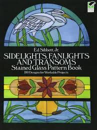 Stained Glass Pattern Books Extraordinary Souq Sidelights Fanlights And Transoms Stained Glass Pattern Book
