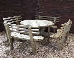 hexagon picnic table plans inspirational home decorating also amazing free plans for building a round picnic