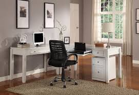 shaped home office. Parker House Boca Three-Piece L-Shaped Desk - Item Number: BOC- Shaped Home Office C