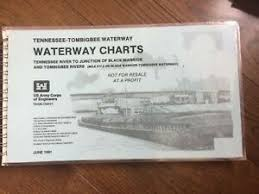 Details About Tennessee Tombigbee Waterway Charts June 1991