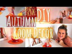 diy fall halloween room decor ways to decorate 2014 youtube