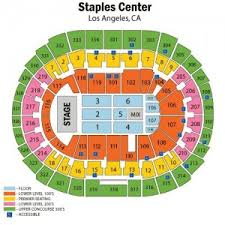 52 Unfolded Staples Center Seating Chart Shawn Mendes