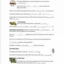 worksheet templates essay on food inc toreto co answers to food  full size of worksheet templates essay on food inc toreto co examples of simile
