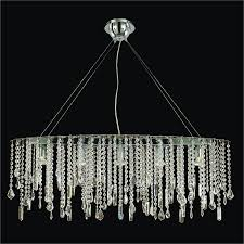 oval crystal chandelier drop divine ice 577 with prepare 16