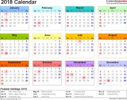 printable calendar 2018 word 2018 calendar 17 free printable word calendar templates