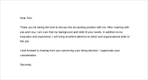 Ideas of Thank You Letter After Phone Interview With Recruiter In Letter