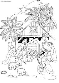 nativity coloring sheet christmas manger coloring pages semwalonwheels com