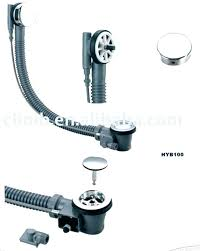 kohler bathtub drain stopper replacement removal fascinating stuck fix a sink at dra