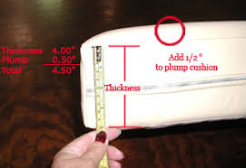 Measure Replacement Couch Cushion Foam and Foam for Cushions