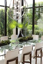 lighting dining room table. coastal miami by slc interiors glass dining room tabledining lighting table g
