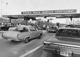 virginia beach norfolk expressway tollbooth 1967