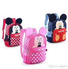 sun 8 859 kindergarten primary kids backpacks children book bags red blue pink mini mouse for 2 6 years old boy internal frame backpacks
