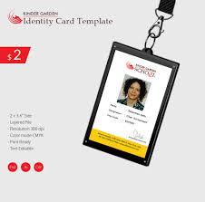 identity card template word elegant kindergarten school identity card download free premium