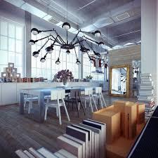 the lighting loft. Modern Industrial Spider Chandelier The Lighting Loft