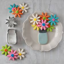 decorated flower sugar cookies.  Decorated Easy Mason Jar And Flower Decorated Cookies Intended Sugar Cookies R