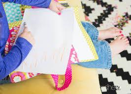 diy coloring book and crayon holder 21