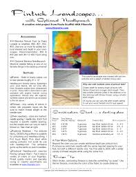 Needle Fabric And Thread Chart Pintuck Landscapes Manualzz Com