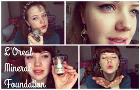 l 39 oreal true match mineral powder foundation review first impressions
