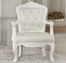 white tufted chair. White Tufted Chair L