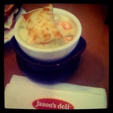 en pot pie soup cup from jason s deli calories fat carbs and protein