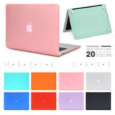 Matte Hard Laptop Cover Case Laptop Case For Apple Macbook Mac book Air Pro  Retina New Touch Bar 11 12 13 15 inch
