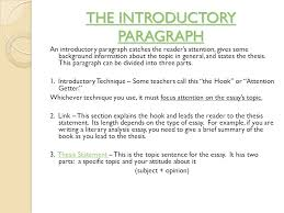 the introductory paragraph examples of introductory paragraphs for expository essays