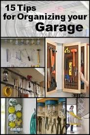 15 tips for organizing your garage some of these would be practical in a sewing pinterest garage organization g13