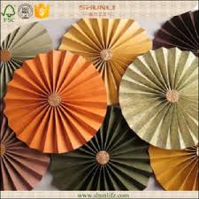 Hanging Paper Flower Backdrop China Colorful Hanging Paper Flower Fan Christmas Decoration China
