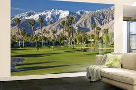 desert princess golf course and mountains palm springs