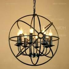 metal orb light fixture lighting home depot chandelier fabulous find deals on