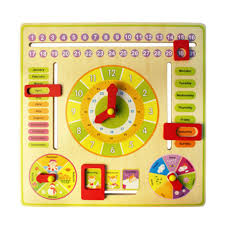 Baby Learning Chart Details About Wooden Calendar Clock Date Weather Chart Baby Toddler Learn Toys Hot Sale Wt730