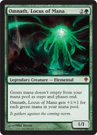 carpet of flowers mtg. omnath, locus of mana carpet flowers mtg c