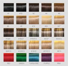 Fischer Saller Scale Chart Hair Extension Color Number Chart Dark Golden Blonde Hair