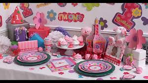 Small Picture Girls 1st birthday party themes decorations at home ideas YouTube