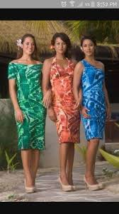 Hawaii Clothing Designers Cook Island Dresses