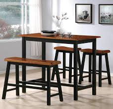 Tyler 4 Piece Counter Height Table Set With Chairs And Bench By Crown Mark At Wilcox Furniture