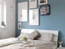 Wandfarbe Blau Grau Schlafzimmer Wandfarbe Taubenblau Engagieren