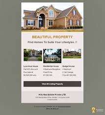 A Premium And Clean Real Estate Email Template Designed To