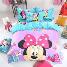 minnie mouse twin bedding set canada bed purple