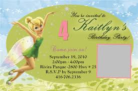 Tinkerbell Template Free Printable Tinkerbell Birthday Party Invitations Tinkerbell