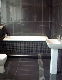 dark gray and white bathroom dark grey bathroom floor tile