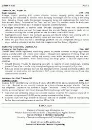 Manager Resume Sample Management Template Vasgroup Co With Regard