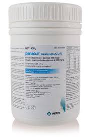 Panacur Granules 22 2 Merck Animal Health Usa