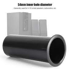 Tebru 2pcs Speaker Inverter Tube Audio Inverted Vent 6-12