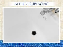 bath tub chip repair after reglazing