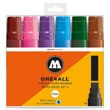 Molotow One4all Color Chart Molotow Molotow 627hs Basic Set 2 6